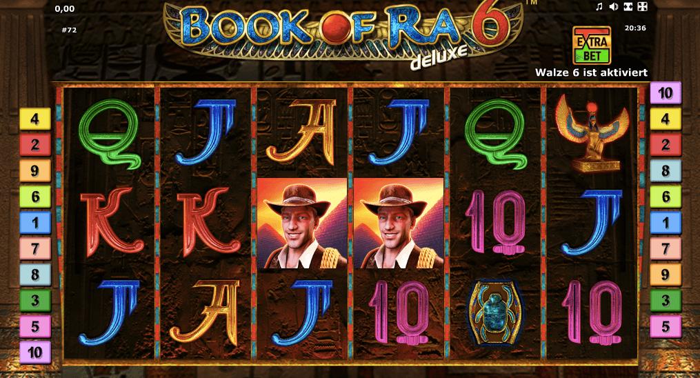 """Der neuste Slot der Book of Ra Serie """"Book of Ra 6"""" hat eine Walze mehr"""